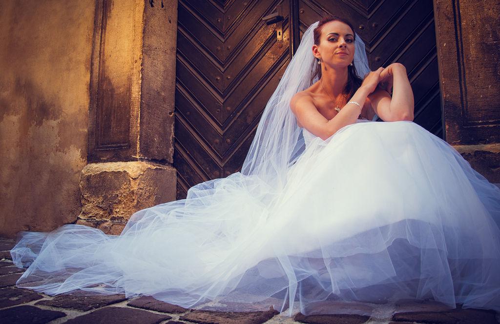 Zdjęcie z sesji ślubnej w Krakowie