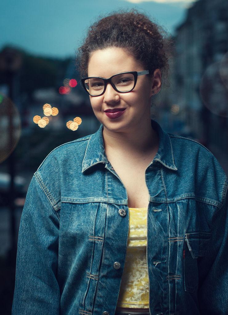 Portret Sabiny, zdjęcie z projektu portretowego #1000portretów. Sesja zdjęciowa w Krakowie