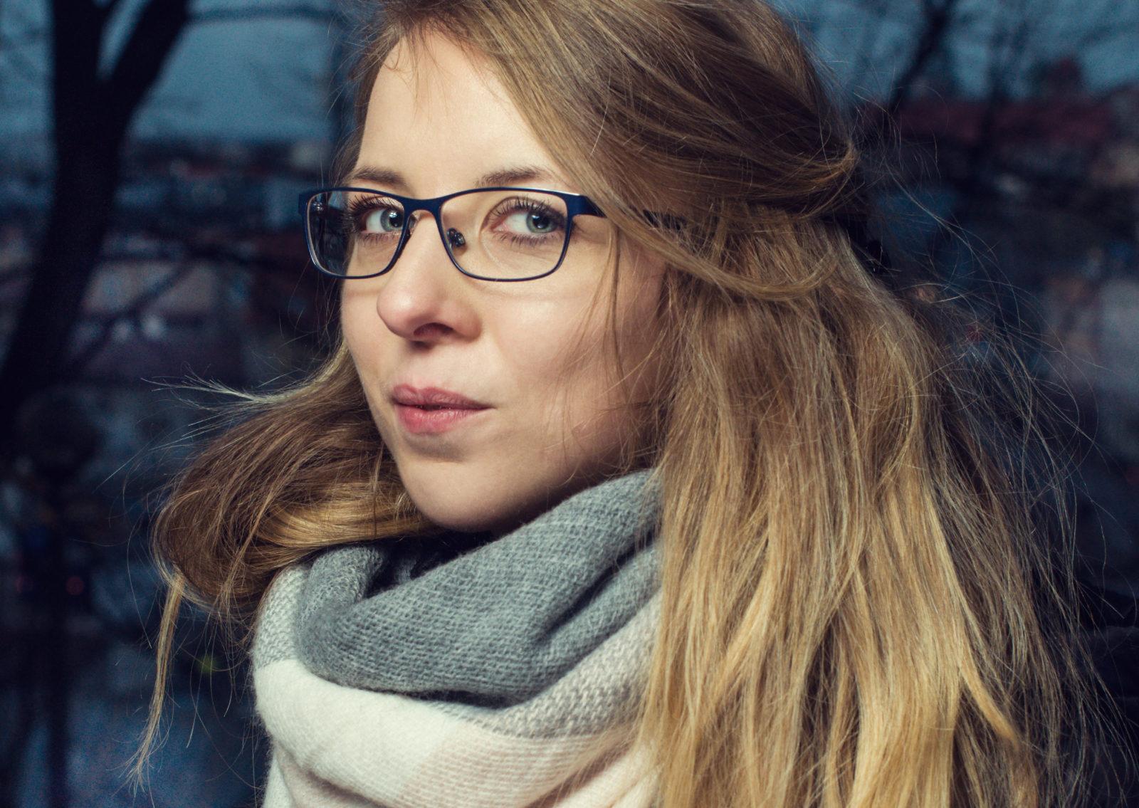 listopadowe portrety - fotografia z serii #1000portretów, Kraków