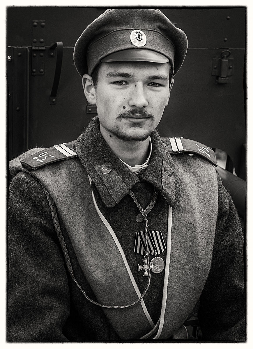 Kraków portrety. 1918